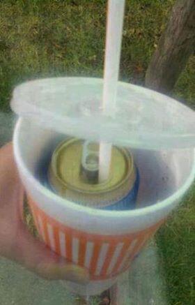 El que quiere emborracharse puede!  Foto Crédito: Twitter