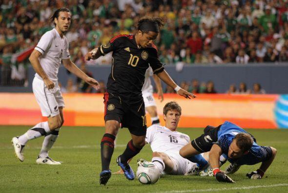Con 'doblete' de Giovanni dos Santos se le ganó 3 a 1.