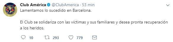 Barcelona lucirá cambios en su playera en homenaje a las víctimas de ate...