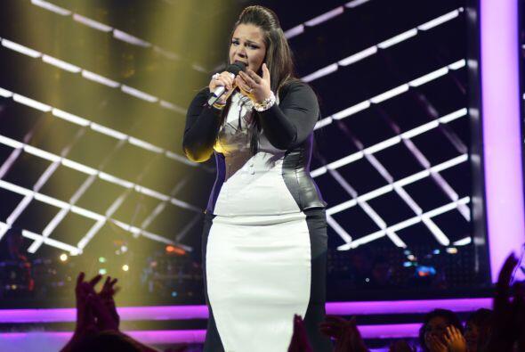 En el segundo dueto, también venció a Ana Cristina.
