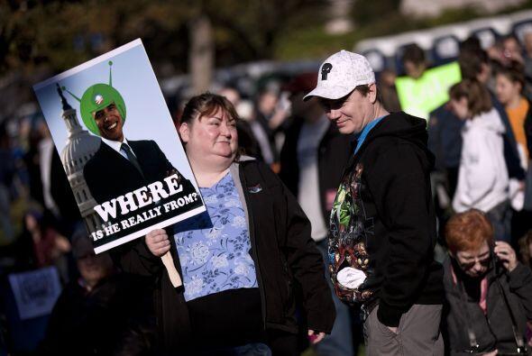 De los alienígenas, ni Barack Obama se escapó.