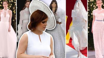 Todo sobre el vestido de novia de la princesa Eugenie para su boda real