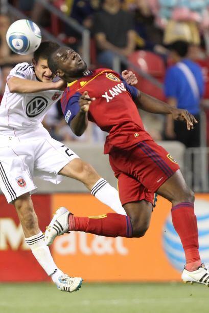 El Real Salt Lake y D.C. United empataron 1-1 con goles de penalti en pa...