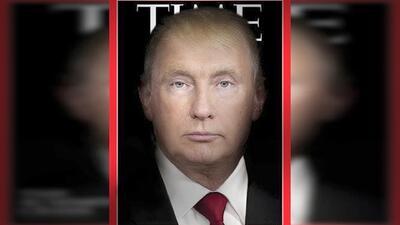 Trump y Putin parecen uno mismo en espectacular montaje de la revista Time