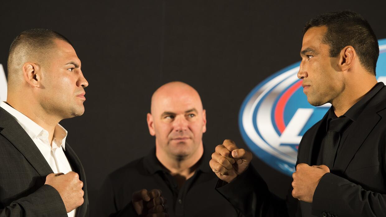 Capi y Werdum pelearán por segunda vez.