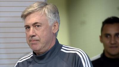 El técnico del Madrid agradeció a los aficionados de Marruecos por el ap...