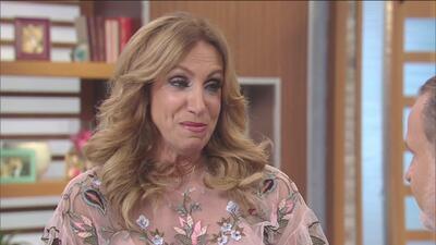 Con la voz entrecortada Lili Estefan confiesa lo duro que fue desprenderse de su hijo