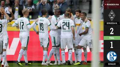 El Gladbach le propina la tercera derrota al Schalke