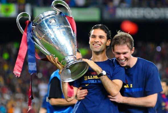 Márquez ganó, durante su paso por Europa, dos Champions League (2006 y 2...