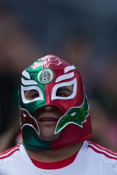 Otra muestra de las máscaras mexicanas.