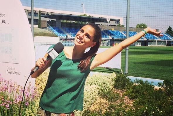 Actualmente es reportera de la Fórmula 1.