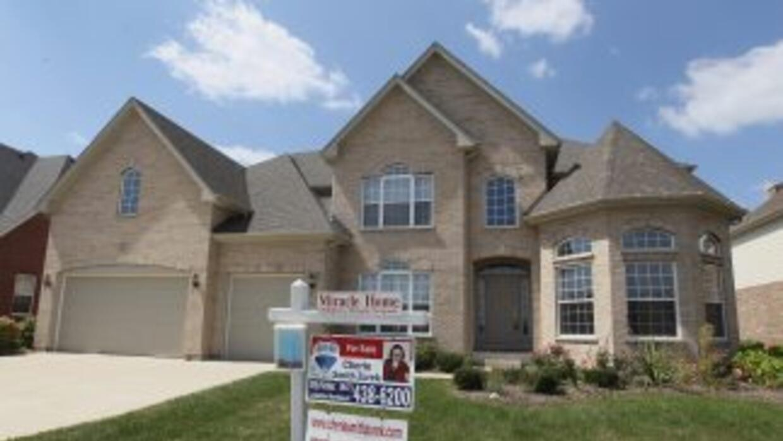 Las cifras de las ventas de casas de segunda mano en abril fueron ajusta...