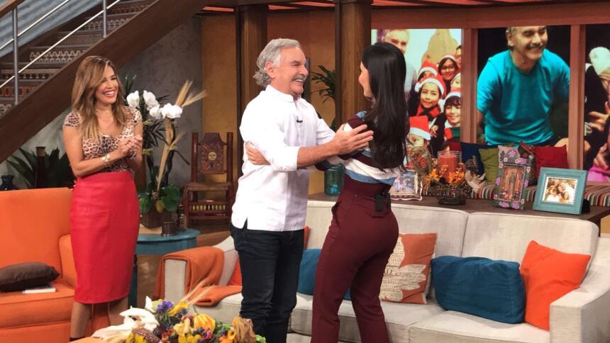Chiqui Delgado y 'Papá Jaime'