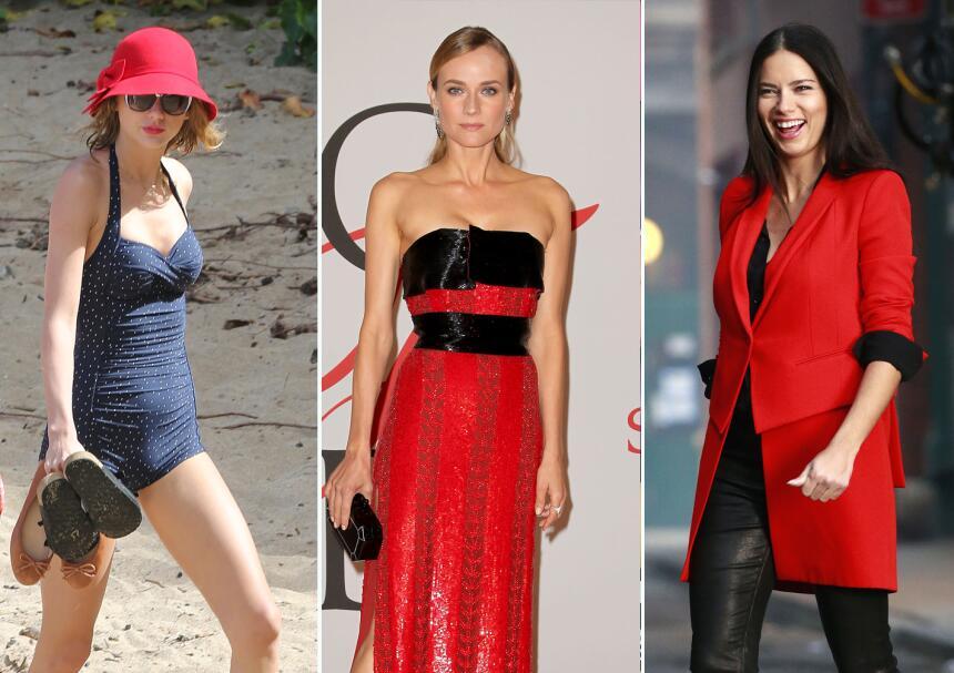 10 elegantes formas de llevar el rojo