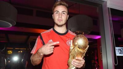 Un gol de Götze le dio la Copa del Mundo a los alemanes.