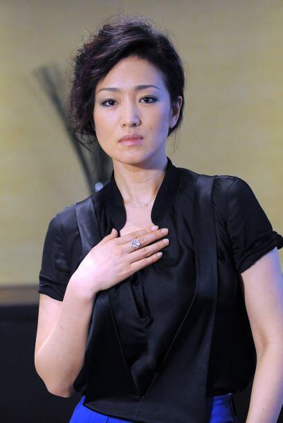 "Gong Li protagonizó la cinta ""Memoirs of a Geisha""."