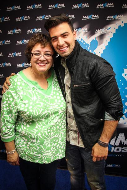 El cantante JeanCarlos Canela paso por la cuidad de los vientos no sin a...