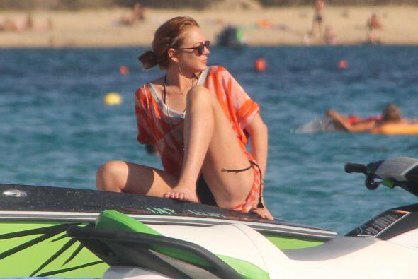 ¡Qué vida la de Lindsay Lohan! Si no está de fiesta, se la pasa de viaje...