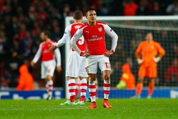 El Arsenal dejó ir una ventaja de 3-0 sobre el Anderletch, para al final...