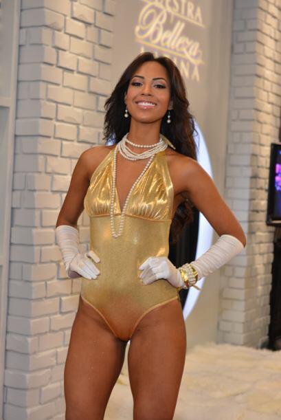 Fanny Abreu de República Dominicana, audicionó en Nueva York. Ella es un...