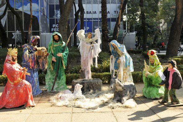 Esta exhibición es una demostración del significado de la Navidad.