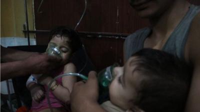 La Sociedad Médica Siria-Estadounidense publicó imágenes de los paciente...
