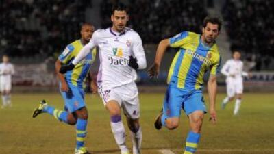 El Real Jaén había remontado para irse al frente del marcador, pero los...