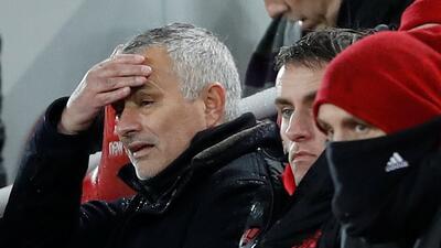 """Mourinho no se enganaña: """"Por supuesto que no podemos ganar el título"""""""
