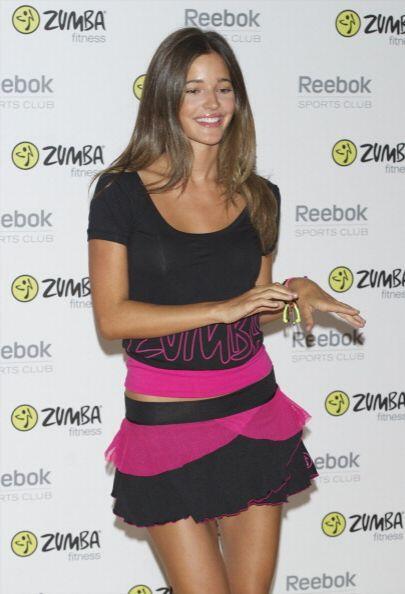 La hermosa novia del futbolista Carles Puyol, Malena Costa, está felizme...