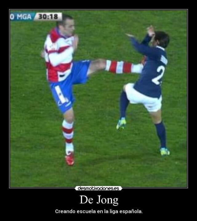 """Tras la llegada de Nigel de Jong al LA Galaxy, te treamos a los """"Bad Boy..."""