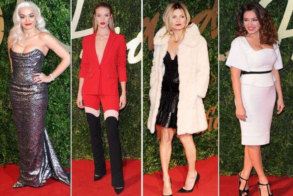 Los British Fashion Awards sorprendieron con 'looks' muy elegantes y cas...