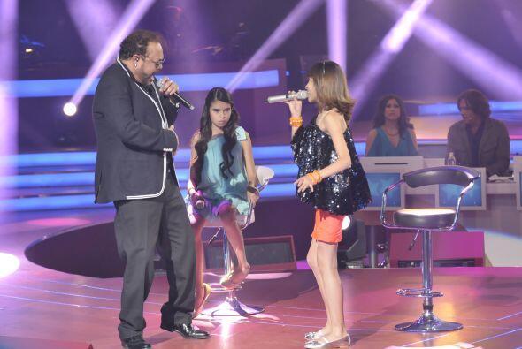Es impactante el gran talento que poseen las cuatro pequeñas de canto.