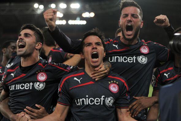 Y es que el Olympiakos fue más contundente que el Anderlecht y lo derrot...