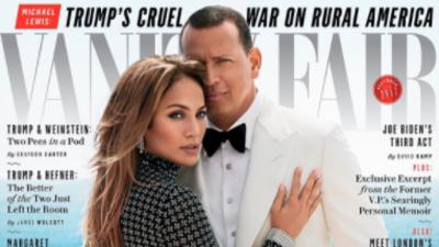 En la portada de la edición de diciembre de 'Vanity Fair', se bau...