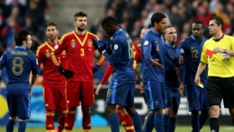 España y Francia ya se enfrentaron en las pasadas eliminatorias mundiali...