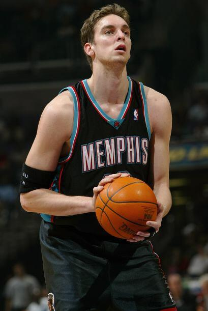 Su hermano mediano, Marc Gasol, también es baloncestista profesio...