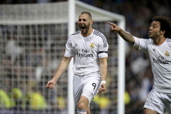 Benzema, el mismo anotador del primer gol, volvió a 'mojar' ante los cat...