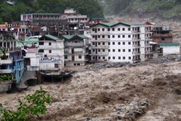 En el estado norteño de Uttarakhand, el más afectado por l...