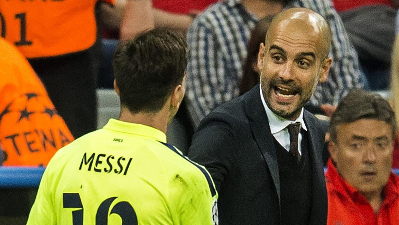 """Guardiola y los 300 millones de rescisión por Messi: """"Si alguno quiere p..."""