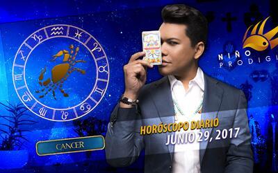 Niño Prodigio - Cáncer 29 de junio 2017