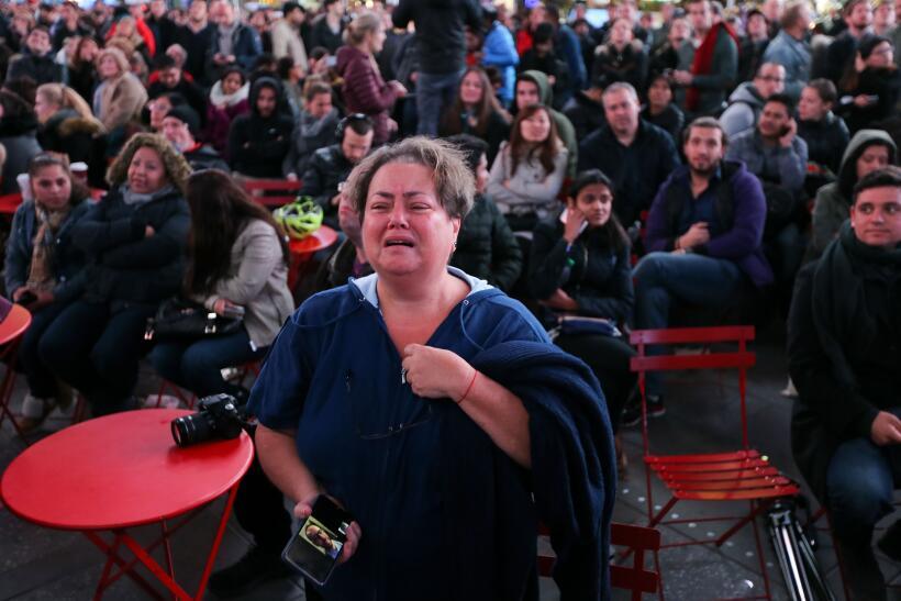 Los resultados de la jornada electoral generaron diversas emociones.