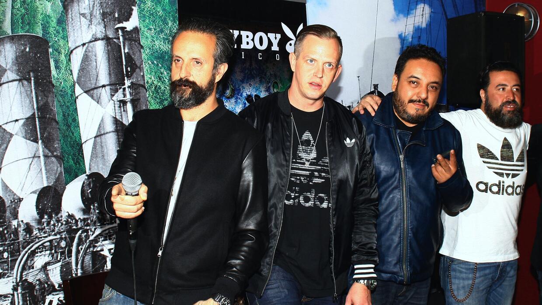 Los integrantes de la banda de rock Molotov se quedaron sin instrumentos...