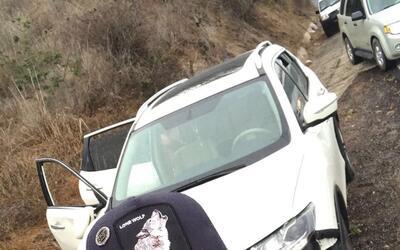 'El Yaqui', resultó ileso luego del aparatoso accidente que sufrío ayer,...