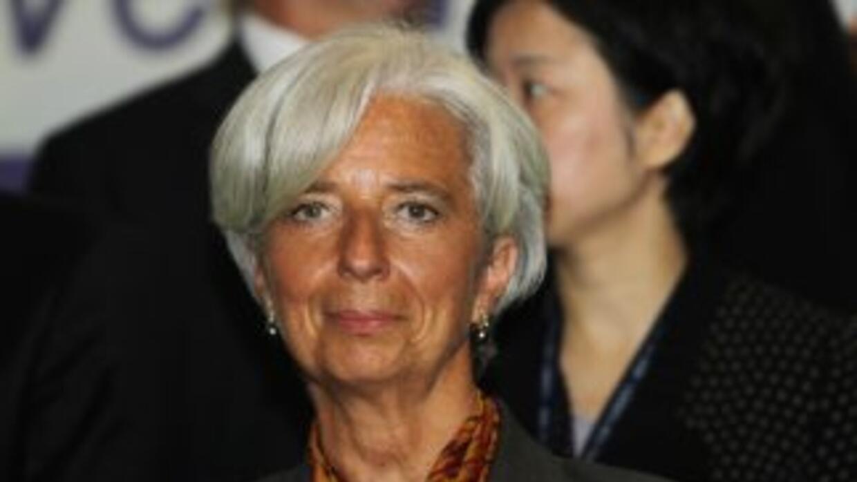 """""""Esto sería extraordinariamente costoso (...)"""", dijo Lagarde con respect..."""