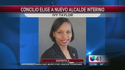 Ivy Taylor, nueva alcaldesa de San Antonio