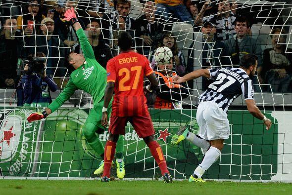 Fabio Quagliarella apareció en el momento indicado para firmar el 2-1 qu...