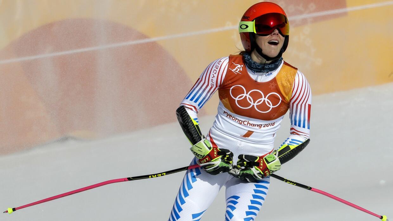Mikaela Shiffrin conquistó su segundo oro olímpico.