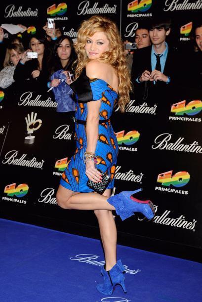 Pero aunque no lo crean, Paulina también ha tenido su lado extravagante....