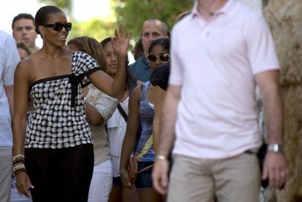 Las vacaciones que realizó la primera dama de Estados Unidos a España, j...