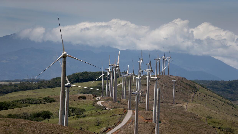 Costa Rica ha producido el 99% de su electricidad con renovables en 2015...